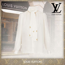 Louis Vuitton Micro-Monogram Jacquard Blouse