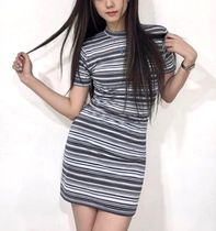 citybreeze Casual Style Street Style Short Sleeves Dresses