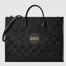 GUCCI GG Marmont Monogram Unisex Nylon Blended Fabrics Street Style A4 2WAY