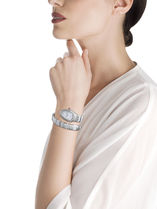 Bvlgari Casual Style Round Party Style Stainless Office Style