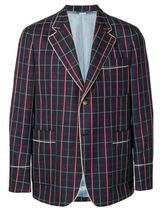 GUCCI Short Tartan Wool Other Animal Patterns Blazers Jackets