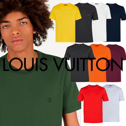 Louis Vuitton More T-Shirts Pullovers Cotton Short Sleeves Luxury T-Shirts
