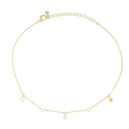 Costume Jewelry Star Casual Style Blended Fabrics Chain