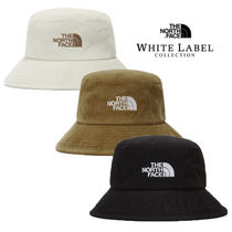 THE NORTH FACE WHITE LABEL Unisex Street Style Bucket Hats Wide-brimmed Hats