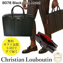 Christian Louboutin Leather Logo Business & Briefcases