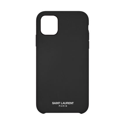 Unisex Plain Silicon Logo iPhone 11 Pro iPhone 11 Pro Max