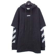 Off-White Street Style Long Sleeves Cotton Hoodies