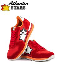 Atlantic STARS Star Suede Blended Fabrics Street Style Leather Handmade