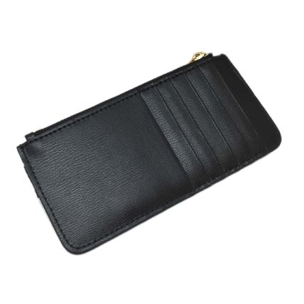 Plain Leather Small Wallet Coin Cases