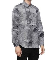 DIESEL Unisex Street Style Long Sleeves Cotton Shirts