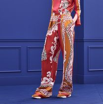 HERMES Casual Style Silk Long Elegant Style Culottes