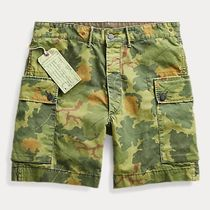 RRL Camouflage Street Style Cotton Cargo Shorts