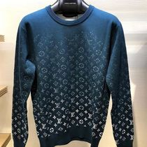 Louis Vuitton MONOGRAM Crew Neck Pullovers Monogram Unisex Street Style Bi-color