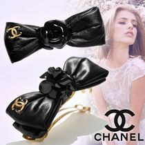 CHANEL Costume Jewelry Barettes Casual Style Party Style