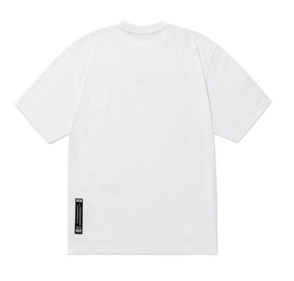 LMC More T-Shirts Unisex Street Style Plain Cotton Short Sleeves Oversized 6