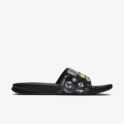 Nike BENASSI Sport Sandals Logo Sports Sandals