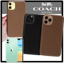 Coach Unisex Street Style Smart Phone Cases