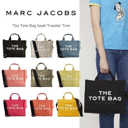 MARC JACOBS Casual Style Unisex Canvas Street Style A4 Plain Party Style