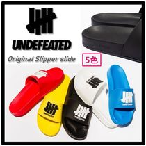 UNDEFEATED Unisex Street Style Sport Sandals Shower Shoes Flipflop