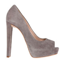 GIUSEPPE ZANOTTI Open Toe Platform Plain Leather Party Style Elegant Style