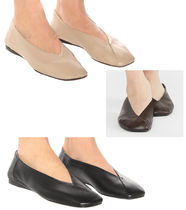MaxMara Plain Ballet Shoes