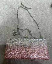 Jimmy Choo Chain Plain Glitter Party Bags