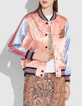 Coach Short Flower Patterns Casual Style Street Style