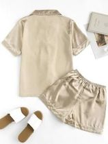 ZAFUL Plain Cotton Lounge & Sleepwear