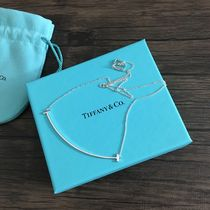 Tiffany & Co Tiffany T Party Style Silver Elegant Style Necklaces & Pendants