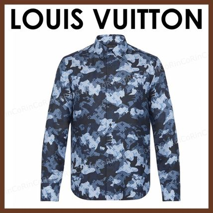 Louis Vuitton Long Sleeves Luxury Shirts