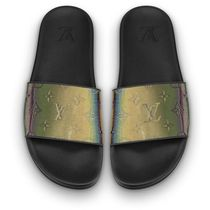Louis Vuitton Monogram Shower Shoes Flipflop Logo Shower Sandals