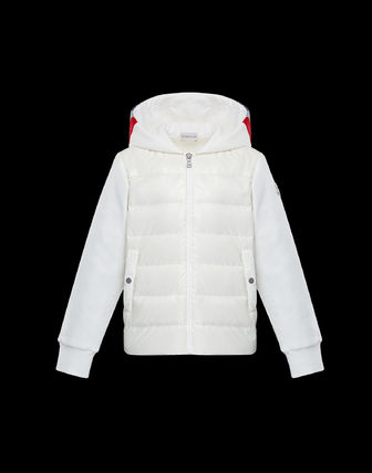 MONCLER Blended Fabrics Street Style Kids Boy Outerwear