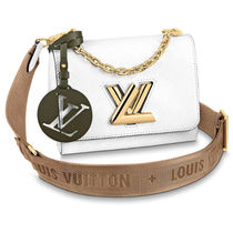 Louis Vuitton TWIST Casual Style Blended Fabrics Street Style 3WAY Bi-color