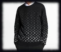 Louis Vuitton MONOGRAM Cotton Luxury Sweaters