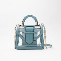 ZARA Crystal Clear Bags Crossbody Handbags