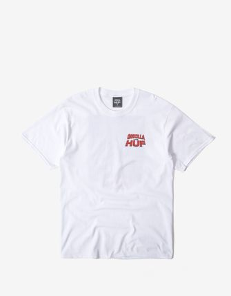 Street Style Collaboration Short Sleeves Logo T-Shirts