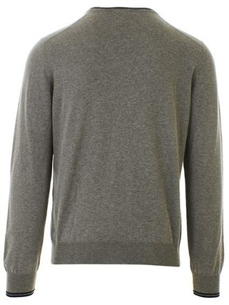 Street Style V-Neck Long Sleeves Cotton Sweaters