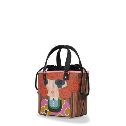 Orla Kiely 2WAY Leather Handbags