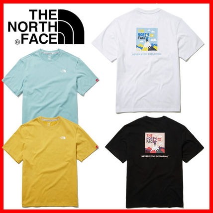 THE NORTH FACE More T-Shirts Unisex Street Style Logo Outdoor T-Shirts