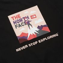 THE NORTH FACE More T-Shirts Unisex Street Style Logo Outdoor T-Shirts 12