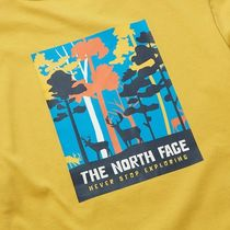 THE NORTH FACE More T-Shirts Unisex Street Style Logo Outdoor T-Shirts 15