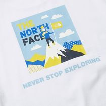 THE NORTH FACE More T-Shirts Unisex Street Style Logo Outdoor T-Shirts 18