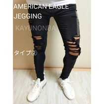 American Eagle Outfitters Skinny Unisex Street Style Plain Skinny Jeans 7