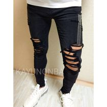 American Eagle Outfitters Skinny Unisex Street Style Plain Skinny Jeans 10