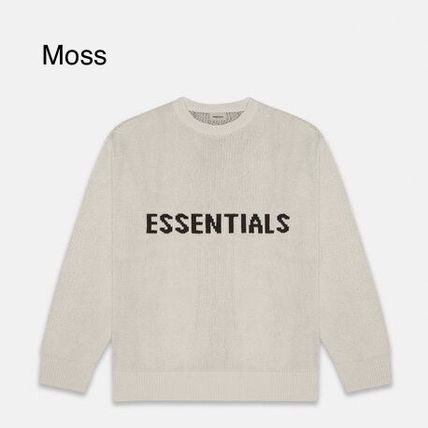 FEAR OF GOD Sweaters Crew Neck Pullovers Unisex Street Style Collaboration 5