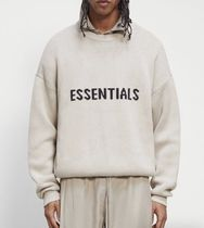 FEAR OF GOD Sweaters Crew Neck Pullovers Unisex Street Style Collaboration 6