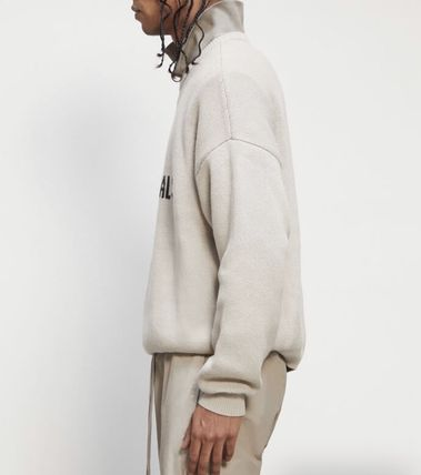 FEAR OF GOD Sweaters Crew Neck Pullovers Unisex Street Style Collaboration 7