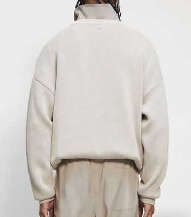FEAR OF GOD Sweaters Crew Neck Pullovers Unisex Street Style Collaboration 8