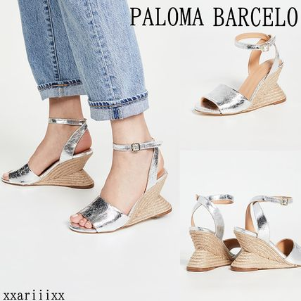 Open Toe Casual Style Leather Elegant Style Sandals