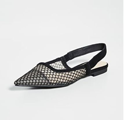 Suede Party Style Elegant Style Slippers Formal Style